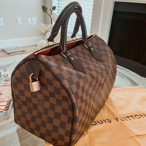 Authentic Louis Vuitton Medium Speedy 30